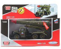"""Модель машины """"ЗИЛ 131. Ракета. Вооруженные силы"""" (масштаб: 1/43; арт. CT10-001-R-2)"""