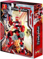 """Конструктор """"Робот трансформер. Гефест"""" (285 деталей)"""