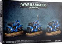 Warhammer 40.000. Space Marines. Bike Squad (48-11)