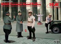 """Набор миниатюр """"Германская дорожная полиция II МВ"""" (масштаб: 1/35)"""
