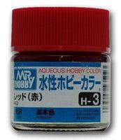 Краска Aqueous Hobby Color водоразбавляемая (red, H-3)