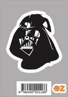 """Глянцевая наклейка """"Звёздные войны. Дарт Вейдер"""" (арт. 116)"""