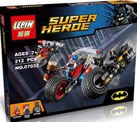 """Конструктор Super Heroe """"Погоня на мотоцикле в Готэм-сити"""""""