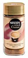 """Кофе растворимый """"Nescafe. Gold. Crema"""" (95 г; в банке)"""