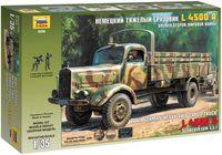 Немецкий тяжелый грузовик времен Второй Мировой Войны L 4500A (масштаб: 1/35)