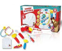 """Игровой набор """"Маша и Медведь. Доктор"""" (8 предметов)"""
