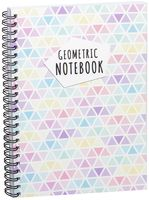 "Блокнот в клетку ""Geometric notebook"" A5 (1379)"