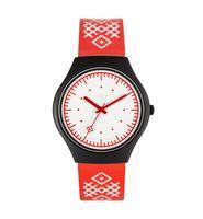 """Часы наручные """"Вышиванка"""" (красные; арт. 275481721)"""