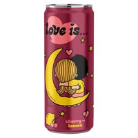 """Напиток газированный """"Love is. Вишня-лимон"""" (330 мл)"""