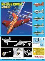 "Истребитель-перехватчик ""Me 163B Komet w/Engine"" (масштаб: 1/48)"