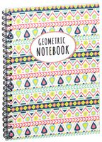 "Блокнот в клетку ""Geometric notebook"" A5 (1380)"