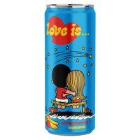 "Напиток газированный ""Love is. Клубника-банан"" (330 мл)"