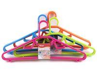 Набор вешалок для одежды пластмассовых (3 шт, 42,5 см, арт. 8456)
