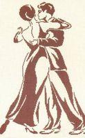 """Вышивка крестом """"Танец"""""""