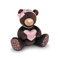 """Мягкая игрушка """"Медведь Choco Milk с сердцем"""" (30 см)"""