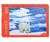 """Пазл """"Белый медведь на льду"""" (500 элементов)"""