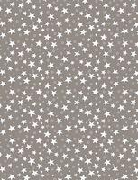"""Простыня хлопковая на резинке """"Stars Grey"""" (160х200 см)"""