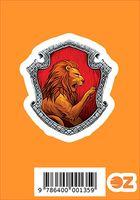 "Глянцевая наклейка ""Гарри Поттер. Гриффиндор"" (арт. 135)"