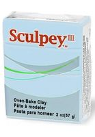 """Глина полимерная """"Sculpey III"""" (небесно-голубая, 57 г)"""