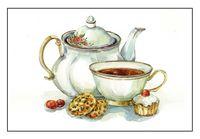 """Алмазная вышивка-мозаика """"Сладости к чаю"""""""