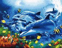 "Картина по номерам ""Танцуя под водой"" (400x500 мм; арт. MG204)"