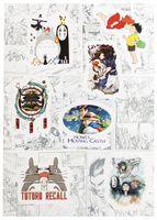 """Набор глянцевых наклеек №171 """"Ghibli"""""""