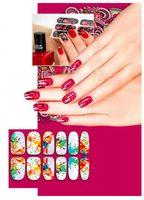 """Наклейки для дизайна ногтей """"Акварель"""" (6 шт.)"""