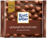 """Шоколад молочный """"Ritter Sport. Цельный лесной орех"""" (100 г)"""