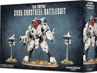 Warhammer 40.000. Tau Empire. XV95 Ghostkeel Battlesuit (56-20)