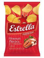 """Чипсы картофельные """"Estrella. Нежный лосось в сливочном соусе"""" (125 г)"""