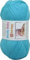 "Пряжа ""KARTOPU. Woolly Baby №K515"" (50 г; 148 м; ярко-голубой)"