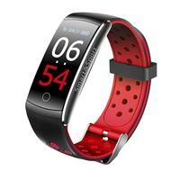 Фитнес-браслет SOVO SE12 с цветным экраном (черно-красный)