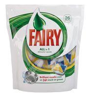 """Средство для мытья посуды в капсулах для автоматических посудомоечных машин FAIRY """"All in 1"""" (26 шт)"""