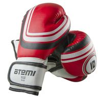 Перчатки боксёрские LTB-16101 (L/XL; красные; 10 унций)