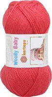 """Пряжа """"KARTOPU. Woolly Baby №K812"""" (50 г; 148 м; малиновый)"""