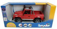 """Модель машины """"Внедорожник-пикап Land Rover Defender"""" (масштаб: 1/16)"""