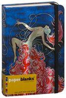 """Записная книжка Paperblanks """"Кабаре, кабаре"""" в линейку (формат: 120*170 мм, средний)"""