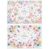 """Альбом для рисования """"Tender Garden"""" (А4; 20 листов; в ассортименте)"""