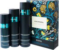 """Подарочный набор """"Kikimora"""" (шампунь для волос, маска для волос, крем-филлер для волос)"""