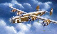 """Бомбардировщик """"B-24D Liberator"""" (масштаб: 1/72)"""