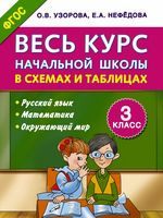 Весь курс начальной школы в схемах и таблицах. 3 класс