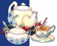 "Алмазная вышивка-мозаика ""Чайная традиция"""