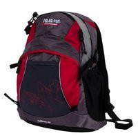 Рюкзак П1563 (21 л; чёрно-красный)