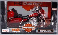 """Модель мотоцикла """"FLHTK Electra Glide Ultra Limited"""" (масштаб: 1/12)"""