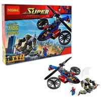 """Конструктор """"Super Heroes. Вертолёт человека паука"""" (299 деталей)"""