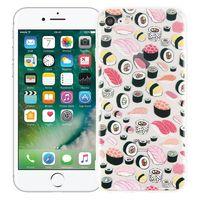 """Чехол для iPhone 7/8 """"Суши-сет"""" (прозрачный)"""