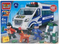 """Конструктор """"Полиция. Ограбление банкомата"""" (116 деталей)"""
