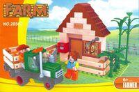 """Конструктор """"Ферма. Домик фермера"""" (210 деталей)"""