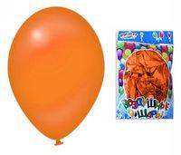Набор шариков резиновых надувных (оранжевый; 100 шт.)