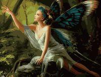 """Картина по номерам """"Бабочка"""" (500x650 мм; арт. MMC025)"""